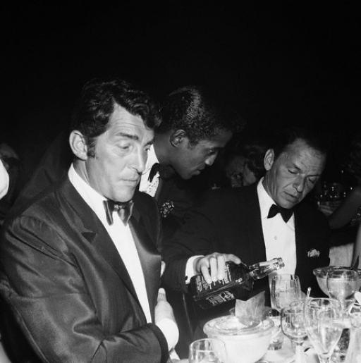 Dean Martin, Sammy Davis, Jr., Frank Sinatra. - Image by Michael Ochs Archives-Corbis