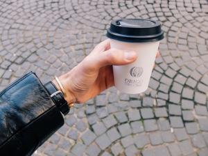 My latte from Origo